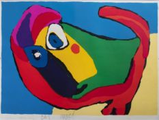 Karel Appel (1921-2006): Untitled, lithograph in colours