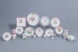 A collection of 17 pieces in faience de l'Est, France, 18th/19th C.