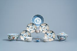 A varied collection of Japanese polychrome porcelain, 18th C. and later