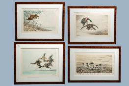 Leon Danchin (1887-1938): Four graphic works with animals