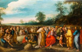 Flemish school, attributed to Frans Francken II (1581-1642) and workshop: The multiplication of the