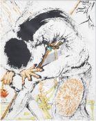 Salvador Dali (1904-1989, after): 'Don Quichotte de la Mancha - La metamorphose de Hidalgo', print o