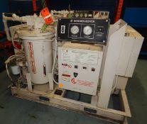 GARDNER DENVER ECHSHE ELECTRA- SAVER II LIQUID-COOLED ROTARY SCREW AIR COMPRESSOR WITH 50 HP, 100