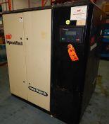 INGERSOLL-RAND IRN50H-CC ROTARY SCREW AIR COMPRESSOR WITH 50 HP, 145 PSI, S/N: NV1358U02255 (CI) [