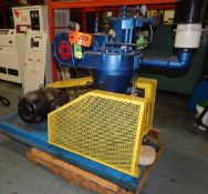 GARDNER DENVER PISTON-TYPE AIR COMPRESSOR WITH 40 HP, 1755 RPM, S/N: N/A (CI) [RIGGING FEE FOR