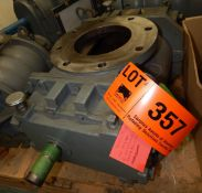 """ROOTS MODEL 412 RAM BLOWER WITH 1.5"""" OUTPUT SHAFT, S/N: 0507912073 (CI) [RIGGING FEE FOR LOT #"""