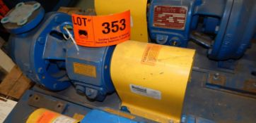 DEAN PH2111 1X1.5/3X8 CENTRIFUGAL PUMP WITH 1750 RPM, 275 PSI, S/N: 177722 (CI) [RIGGING FEE FOR LOT