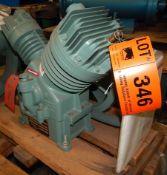 GARDNER DENVER ASDGAD COMPRESSOR HEAD UNIT WITH 4.75 & 2.5X2.4 BORE & STROKE, S/N: W6J050 (CI) [