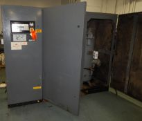 ATLAS COPCO GA110 ROTARY SCREW AIR COMPRESSOR WITH 161 HP, 132 PSI, S/N: AIF.034716 (CI) [RIGGING