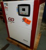 GARDNER DENVER (2014) APEX15-25A ROTARY SCREW AIR COMPRESSOR WITH 25 HP, 125 PSI, S/N: 8445471 (
