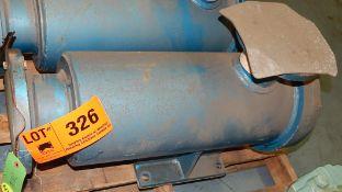 PLENTY MIRRLEES HEAA90-3NL PUMP, S/N: T35067 (CI) [RIGGING FEE FOR LOT #326 - $25 CAD PLUS