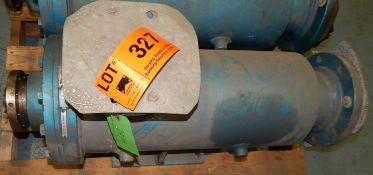 PLENTY MIRRLEES HEAA90-3NL PUMP, S/N: T35062 (CI) [RIGGING FEE FOR LOT #327 - $25 CAD PLUS
