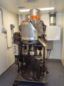 STOKES 900-513-3 CONVENTIONAL ROTARY TABLET PRESS WITH UPGRADED CONTROL, SAFETY CAGE WITH