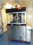 MANESTY EXCELLAPRESS (37) STATION AUTOMATIC TABLET PRESS WITH RETROFIT LOGO ITD SIEMENS PLC