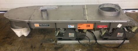 ERIEZ MAGNETICS VIBRATORY CONVEYOR, S/N: N/A [OPTIONAL PACKAGING FEE $25 USD + APPLICABLE TAXES -