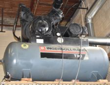 INGERSOLL-RAND T-30 PISTON-TYPE TANK MOUNTED AIR COMPRESSOR WITH 30HP MOTOR AND DISCONNECT BOX (