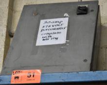 575V/30A DISCONNECT BOX