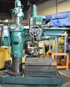 ASQUITH 5' RADIAL ARM DRILL WITH SPEEDS TO 1130RPM, COOLANT, (575V/3PH), S/N: P33645 (CI) [RIGGING