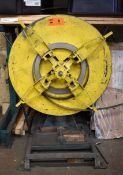 """MIKAN UNCOILER WITH 2500LB CAPACITY AND 8"""" ARMS, S/N: N/A (CI) [RIGGING FEE FOR LOT #5 - $100 CAD"""