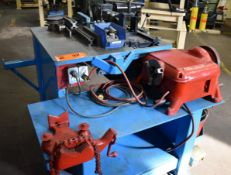 """LOT/ PIPE MACHINING SYSTEM CONSISTING OF CAMBO HYDRAULIC PIPE BENDER WITH 1-1/2"""" CAPACITY;"""