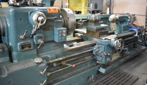 """DEAN, SMITH & GRACE TYPE 30LD ENGINE LATHE WITH 30"""" SWING, 84"""" BETWEEN CENTERS, 4"""" SPINDLE BORE,"""