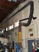 WELDING EXHAUST SYSTEM WITH FILTER UNIT, EXHAUST SNORKEL, 5HP MOTOR, (575V), S/N: N/A (CI) [