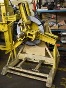 AMERICAN STEEL LINE CO. MODEL 60 UNCOILER WITH 2500LB CAPACITY AND VARIABLE SPEED DRIVE, S/N: