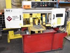 """BAXTER (2014) 280S VERTICUT HORIZONTAL BANDSAW WITH 8""""X10"""" CUTTING CAPACITY, 400 FT/MIN MAX."""