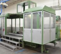 OKK MCH—800 4-AXIS CNC HORIZONTAL MACHINING CENTER, FANUC 18-M CNC