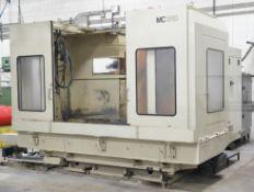 MAKINO MC-1510-A60 5 AXIS CNC HORIZONTAL MACHINING CENTER WITH FANUC SERIES 15-M CNC