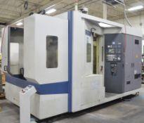 MORI SEIKI MH-630 5-AXIS CNC TWIN PALLET HORIZONTAL MACHINING CENTER WITH MORI SEIKI MSC-502 CNC