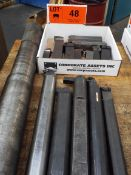 LOT/ CARBIDE INSERT LATHE CUTTERS & BORING BARS (LOCATED AT 460 SIGNET DR, NORTH YORK, ON)