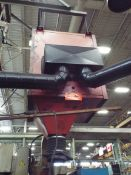 FRED OVERHEAD FUME EXTRACTOR WITH (2) SNORKELS, S/N: N/A (CI) (LOCATED AT 460 SIGNET DR, NORTH YORK,