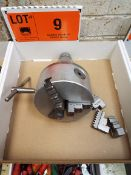 """50 TAPER 5"""" 3-JAW CHUCK, S/N: N/A (LOCATED AT 460 SIGNET DR, NORTH YORK, ON)"""