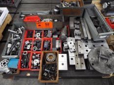 LOT/ CLAMPING, SET UP BLOCKS, TOOL COLLETS, SPARE PARTS (LOCATED AT 460 SIGNET DR, NORTH YORK, ON)