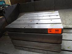 "39.5""X35.5""X24"" T-SLOT BOX TABLE, S/N: N/A (CI) (LOCATED AT 460 SIGNET DR, NORTH YORK, ON) ["