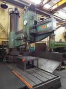 """UCIMU 10' RADIAL ARM DRILL WITH APPROX. 30"""" COLUMN, SPEEDS TO 1470 RPM, S/N: 55489 (CI) (LOCATED"""
