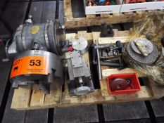LOT/ ROTARY INDEXING HEAD WITH TAILSTOCK AND ACCESSORIES (LOCATED AT 460 SIGNET DR, NORTH YORK, ON)