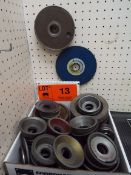 LOT/ DIAMOND WHEEL GRINDING DISCS (LOCATED AT 460 SIGNET DR, NORTH YORK, ON)