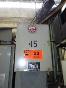 MARCUS 45 KVA TRANSFORMER WITH 600HV, 480/440LV, 3PH, 60HZ (CI) (LOCATED AT 460 SIGNET DR, NORTH