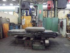 """SAN ROCCO FUTURA 10 TABLE-TYPE HORIZONTAL BORING MILL WITH 4"""" SPINDLE, 51""""X43"""" ROTARY TABLE, 48"""""""