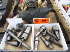 LOT/ (14) 40 TAPER TOOL HOLDERS (LOCATED AT 460 SIGNET DR, NORTH YORK, ON)