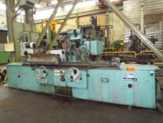 """TOS HOSTIVAR BHU 50/1500 UNIVERSAL CYLINDRICAL GRINDER WITH 23"""" SWING OVER TABLE, 60"""" MAX."""