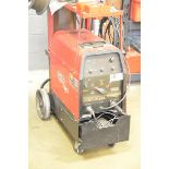 LINCOLN ELECTRIC PRECISION TIG 225 PORTABLE DIGITAL TIG WELDER WITH CABLES AND GUN, S/N N/A [RIGGING