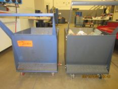 LOT/ (2) CHIP HOPPERS