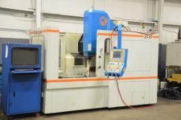 "TAKUMI SEIKI (2001) B8 CNC VERTICAL MACHINING CENTER WITH SELCA CNC CONTROL, 52"" X 31"" TABLE,"