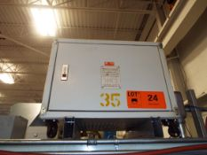 35KVA TRANSFORMER (CI) [RIGGING FEE FOR LOT #24 - $50 USD PLUS APPLICABLE TAXES]