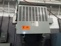 85KVA TRANSFORMER (CI) [RIGGING FEE FOR LOT #41 - $50 USD PLUS APPLICABLE TAXES]
