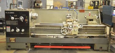 """KENT KLS-2280C CONVENTIONAL ENGINE LATHE WITH 22"""" SWING OVER BED, 25"""" SWING IN THE GAP, 80"""""""