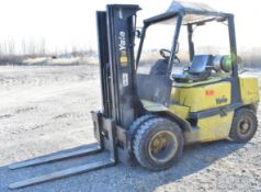 "YALE GLP 080LFNSBE088 LPG FORKLIFT WITH 7550LB CAPACITY, 24"" LOAD CENTER, 185.6"" MAX. VERTICAL"